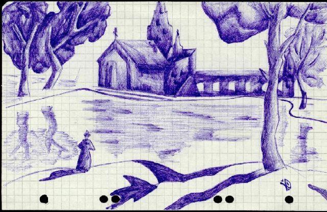 Прогулка одиночества