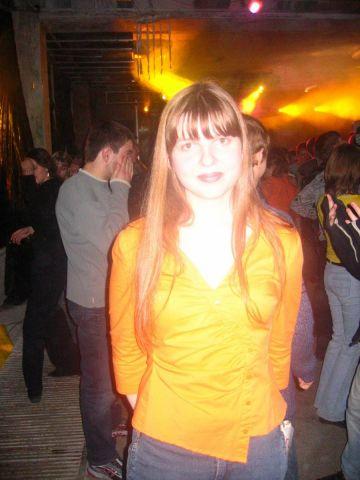 Новогодняя дискотека 2004