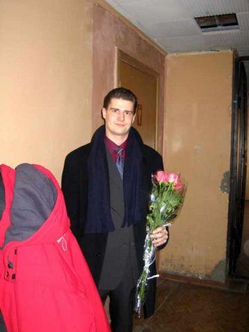 "Paul N. Shevchenko в корпусе ""В"". 04/03/2005"