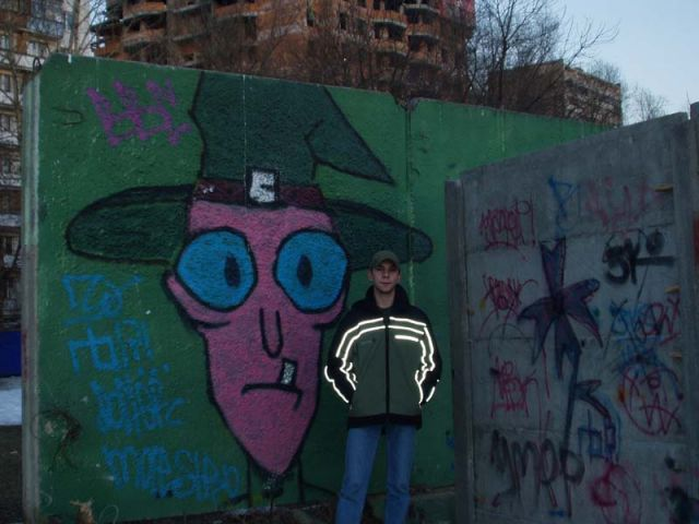 Дима и его друг в шляпе