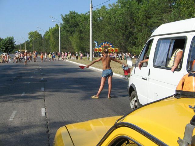 Вот такие в Анапе сотрудницы ГИБДД ))))