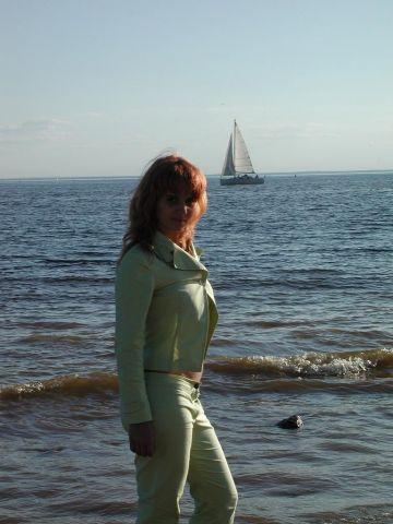 Финский залив и яхточка :)