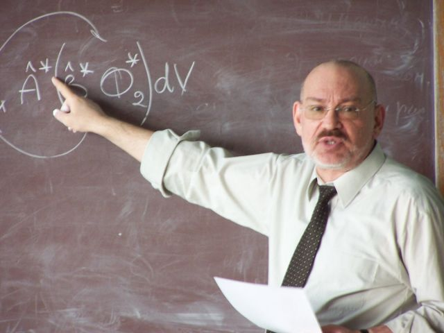 1 марта 2006 Лекция по квантовой физике
