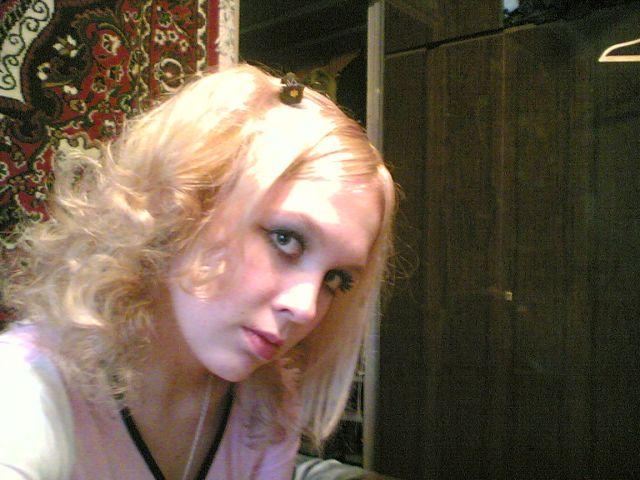 Теперя блондинка:))))))))