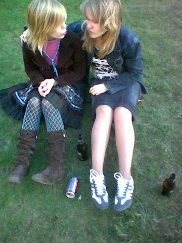 Катя и Аня