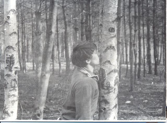 Я в весеннем лесу пил березовый сок...