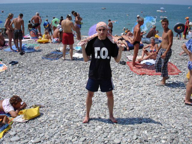 А это я на пляже =) Лазаревское 2006.