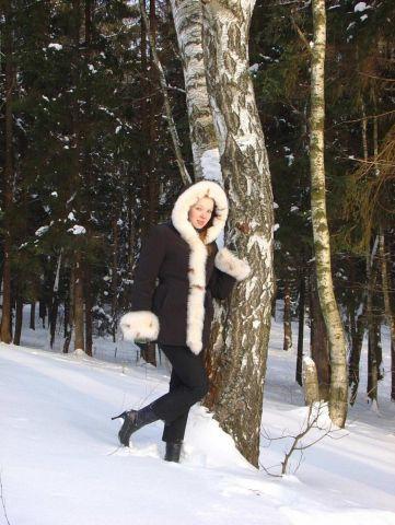 Прошлой зимой в Пирогово