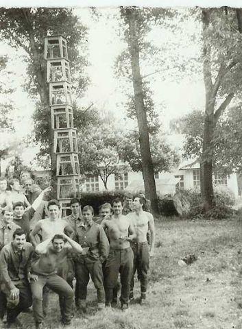 Летние сборы 1985 в Стрый.