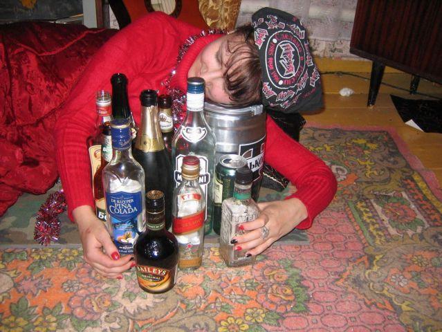 Вот это мы и пили. Там, правда, ещё было много пива, которое