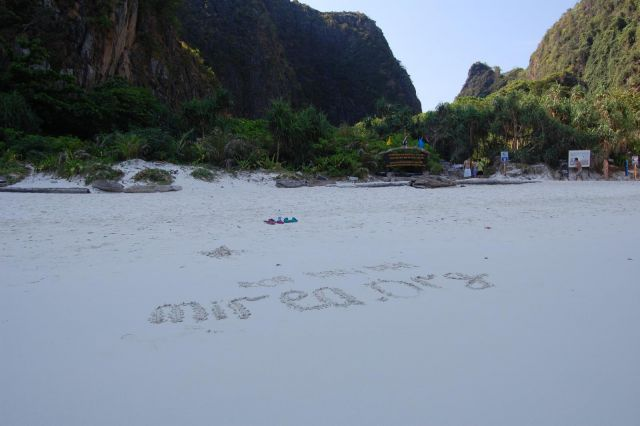 "koh Phi-Phi (""The beach"")"